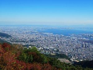 摩耶山からの眺め