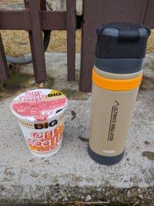 山専ボトルカップヌードル
