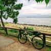 舞洲緑道とバイク