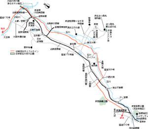 南河内サイクルライン地図