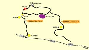 生駒山ハイキングマップ