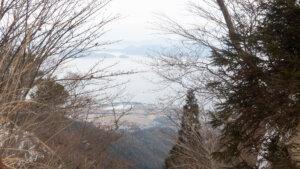 金糞峠からの眺め